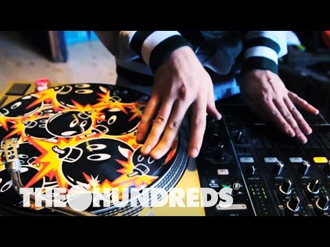 The Hundreds x Serato   Adam Bombed Control Vinyl