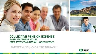 GASB 68: Collective Pension Expense