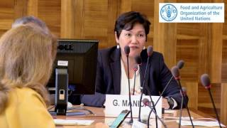 www.planttreaty.org http://www-test.fao.org/plant-treaty Message of Ms Gigi Manicad, Senior Progremme Officer, Global Programmes on Sustainable Livelihoods ...