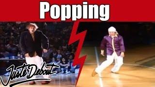 Popping Dance Battles, Quarter-finals : A.K.A. Kin&Popkun Vs. Poppin'Hood&Chris