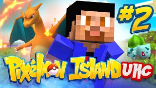 PIXELMON ISLAND UHC #2 w/ The Pack & Friends