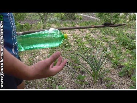 Капельный полив своими руками огорода