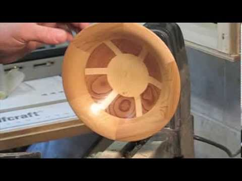 Turning Segmented Bowl