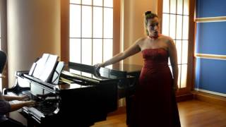 "Lirica World Artist Virginia Eleanor McIntyre sings Preziosilla's aria ""Al suon del tamburo"