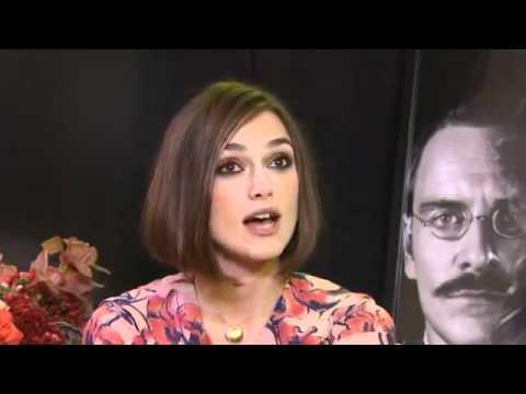 Keira Knightley - A Dangerous Method Interview