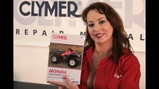 10. Clymer Manuals Honda TRX500 Foreman Maintenance Troubleshooting Repair Shop Manual Video