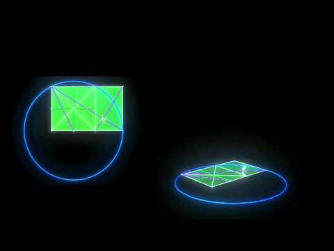 Fibonacci 4D (Sacred Geometry by ieoie)