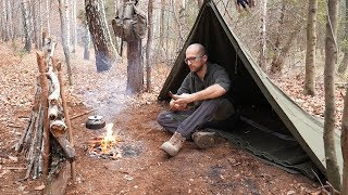 Video Koc, pałatka i deszczowy biwak old school. Bushcraft MP3, 3GP, MP4, WEBM, AVI, FLV November 2018