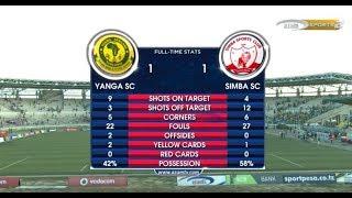 Mtanange Yanga v Simba 1-1, VPL 28/10/2017 Full Highlights