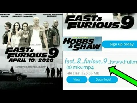 How to download fast and furious 9 full movie in Hindi l hobbs and shaw l