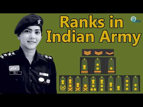 Indian Army Ranks And Insignia | CDS, AFCAT, NDA