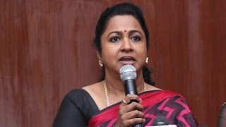 Radika Sarathkumar Explains About How The Rivalry Started in Nadigar Sangam Kollywood News 08/10/2015 Tamil Cinema Online