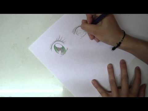 Tutorial Manga-Augen zeichnen – verschiedene Emotionen