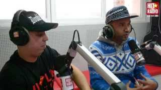 MASTA FLOW ET LOTFI DOUBLE KANON DANS LE MORNING DE MOMO SUR HIT RADIO - 16/12/13