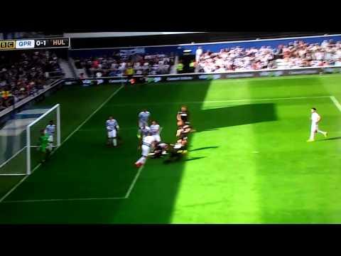 Queens Park Rangers 0-1 Hull Premier League 2014-2015