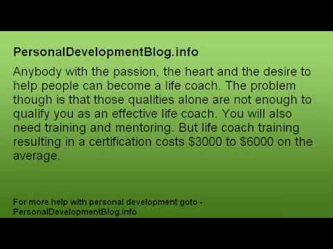 Affordable Life Coach Training