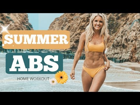 Summer Abs Workout - BEST BIKINI STOMACH | Rebecca Louise