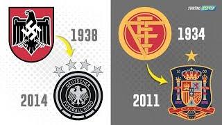 Video Perubahan Logo 32 Timnas Sepak Bola Peserta Piala Dunia 2018 MP3, 3GP, MP4, WEBM, AVI, FLV Juni 2018