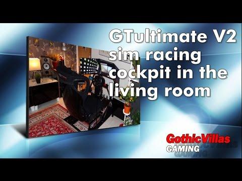 Sim Racing Cockpit In The Living Room (Triple Monitor Setup)