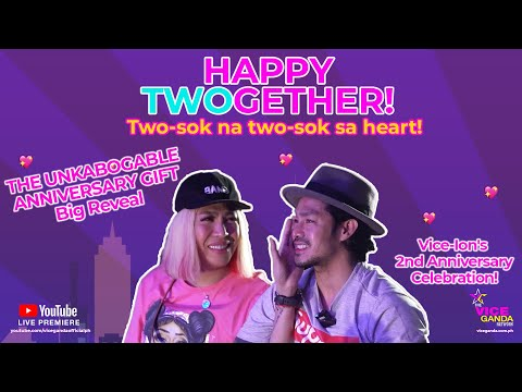 Happy TWOgether! Vice-Ion's 2nd Anniversary Celebration!