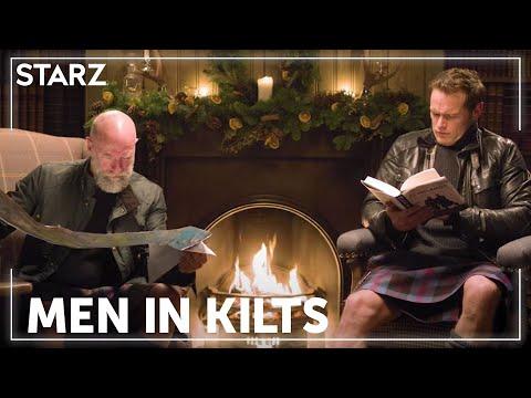 Men in Kilts | Sam & Graham Yule Log | STARZ