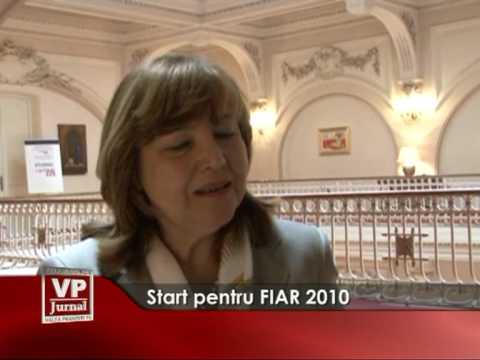 Start pentru FIAR 2010