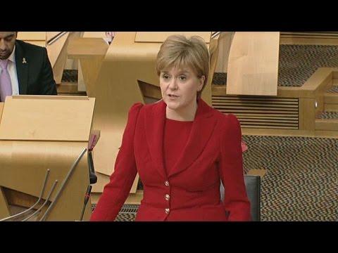 Αποφασισμένη να προστατεύσει τη θέση της Σκωτίας στην Ευρώπη η Νίκολα Στέρτζιον