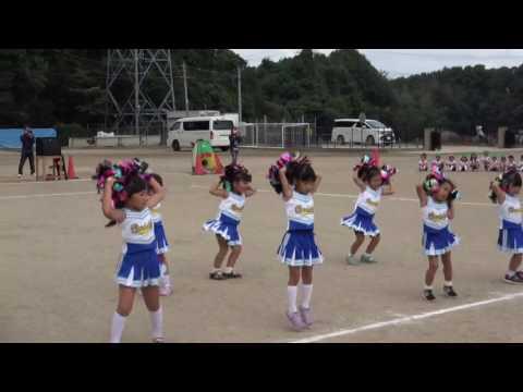 手賀の丘幼稚園・保育園 2016 運動会 チアリーディング