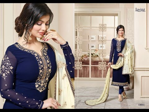 Latest Indian dresses collections 2017 || Ayesha Takia SALWAR KAMEEZ || LAVINA VOL 13