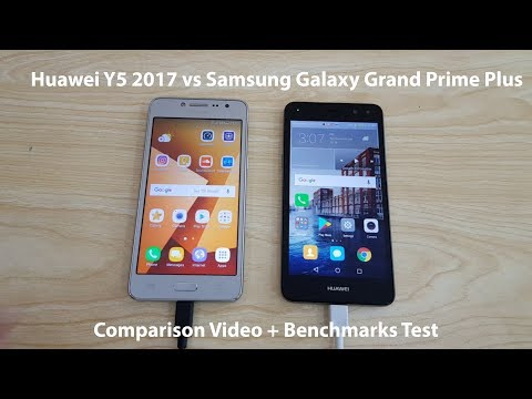 Huawei Y5 2017 vs Samsung Galaxy Grand Prime Plus Comparison