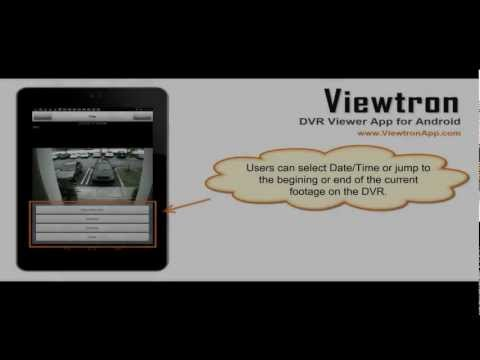 Video of Viewtron CCTV DVR Viewer App