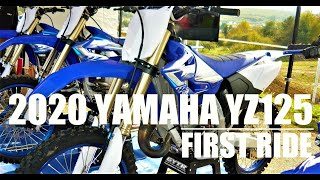 5. 2020 YAMAHA YZ125  First ride