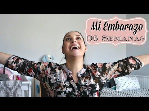 36 SEMANAS DE EMBARAZO - Meta final, Sintomas de Parto, Ultimos Detalles  - 36 Week Bumpdate!