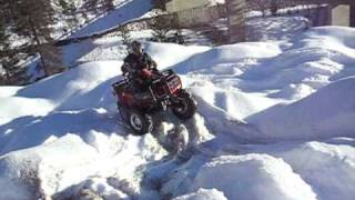 4. ARCTIC CAT ATV 2008 2009