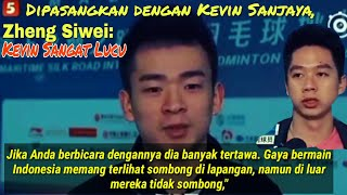 Video Cek Interview Zheng Siwei saat di pasangkan dengan Kevin Sanjaya MP3, 3GP, MP4, WEBM, AVI, FLV Oktober 2018