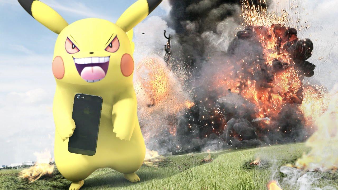 เกม Pokemon GO สุดโหด