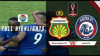 Bhayangkara FC (0) vs (4) Arema FC - Full Highlight | Piala Presiden 2019