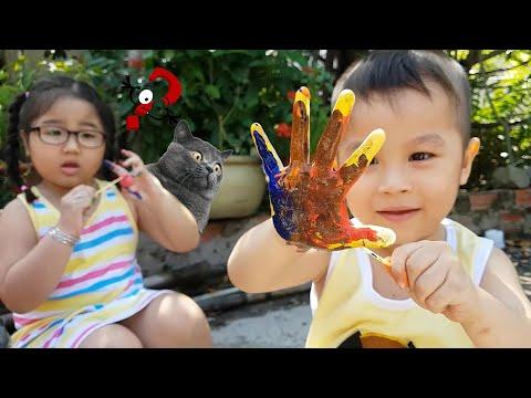 Trò Chơi Bạn Ken Ở Nhà CHơi Chung Xóm Nhỏ ❤ ChiChi ToysReview TV ❤ Đồ Chơi Fun Song Bài Hát
