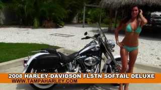 3. Used 2008 Harley-Davidson FLSTN Softail Deluxe for Sale