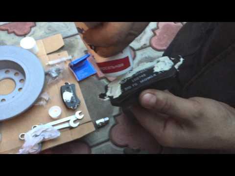 Задние тормозные колодки на фольксваген пассат б6 артикул фотография