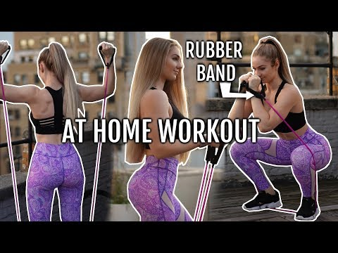 Fat burner - Follow Along Full Body Workout Circuit (AT HOME!)