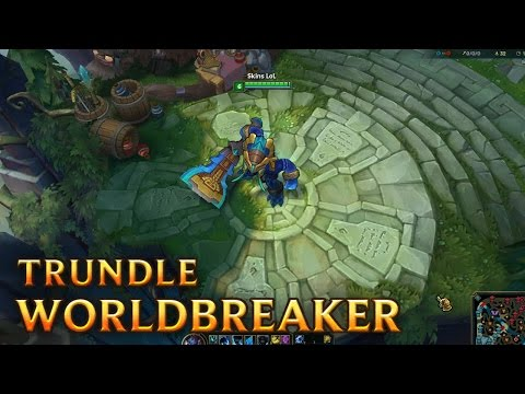 Trundle Hung Thần - Worldbreaker Trundle
