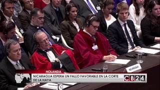 Costa Rica y Nicaragua discuten asuntos limítrofes en el Océano Pacífico y el Mar Caribe en la Corte Internacional de Justicia en...