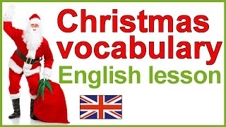 Christmas traditions vocabulary