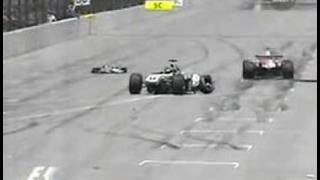 Indianapolis (IN) United States  city photos gallery : Ralf Schumacher Crash live