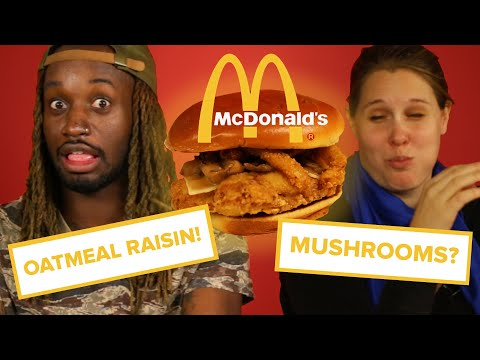 We Tried The Least Popular Items From McDonalds