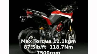 5. Ducati Multistrada 1200 S Pikes Peak Specification
