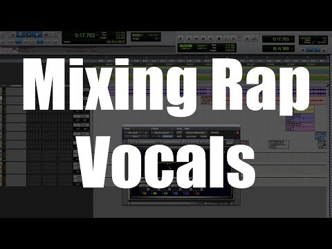 Mixing rap vocals - All the secrets revealed - Mix like a Pro