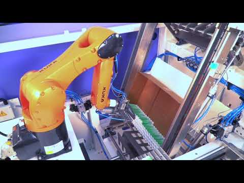 Robotic Tube Packer