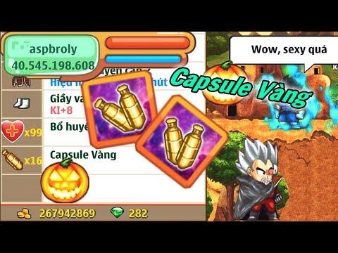 Ngọc Rồng Online - Thử Mở Hơn 10 Viên Capsule Vàng Và Cái Kết - Thời lượng: 6 phút, 37 giây.